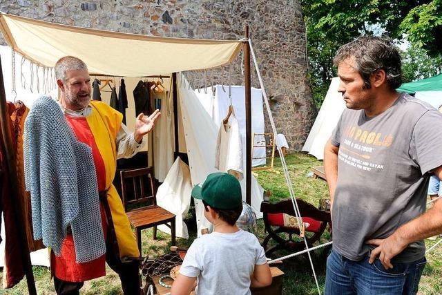 Mehr als 2000 Besucher auf dem Burgfest auf dem Schönberg