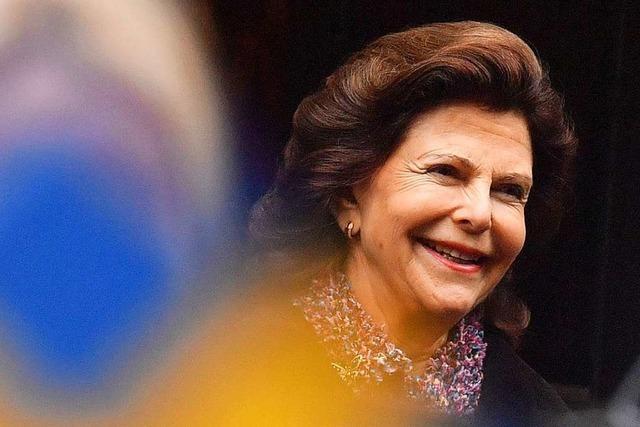 Königin Silvia von Schweden besucht die Mainau