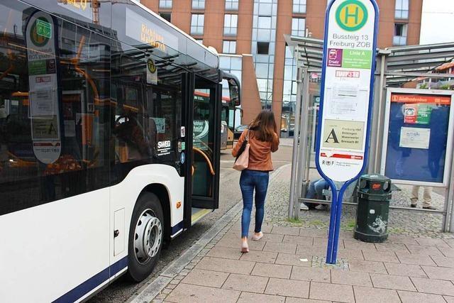 Zwischen Freiburg und Denzlingen fahren Ersatzbusse wegen Bauarbeiten