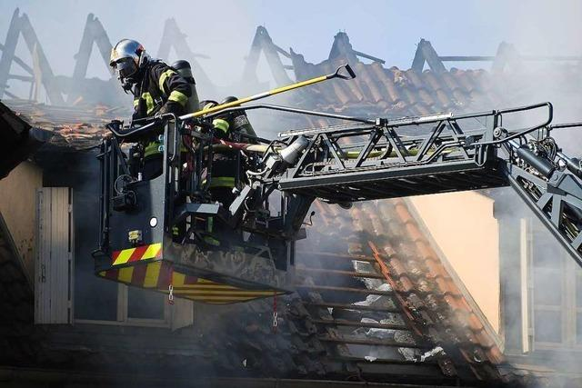 Elfjähriger stirbt bei Feuer im Elsass – Brandstiftung vermutet