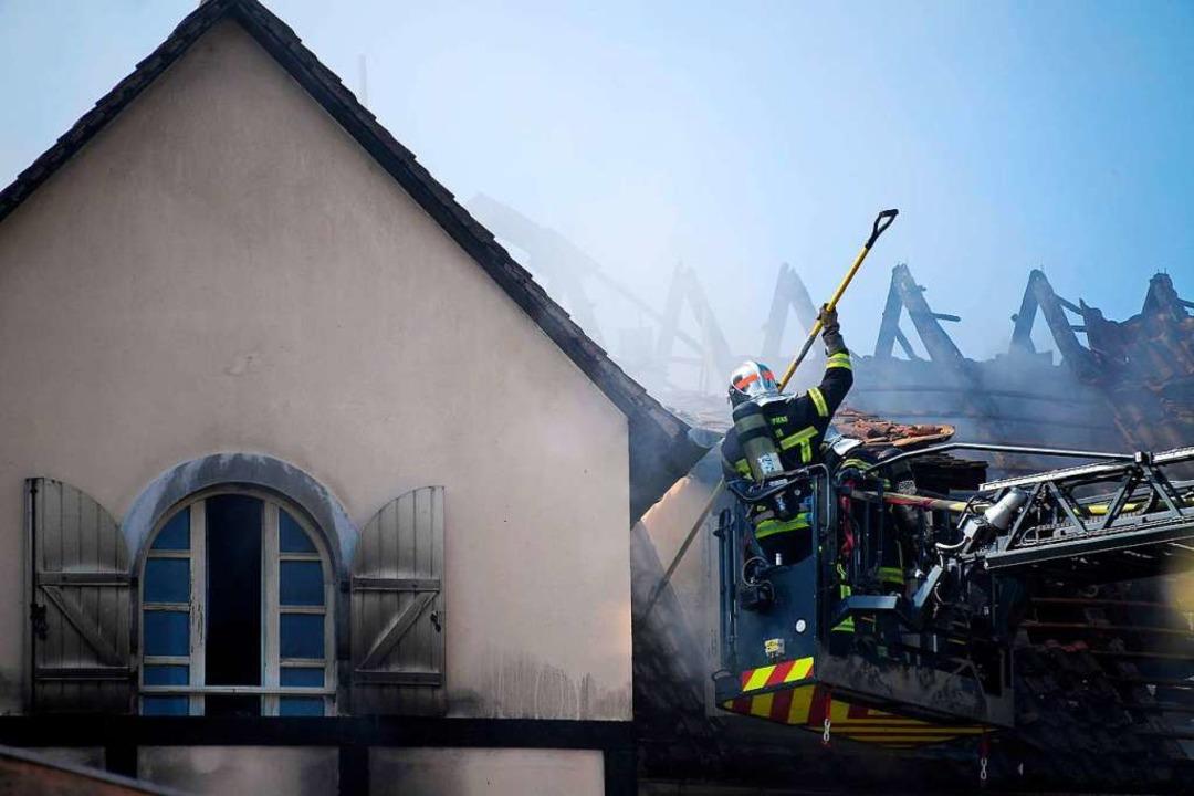 Großeinsatz in Schiltigheim, einer Gemeinde nördlich von Straßburg.  | Foto: FREDERICK FLORIN (AFP)