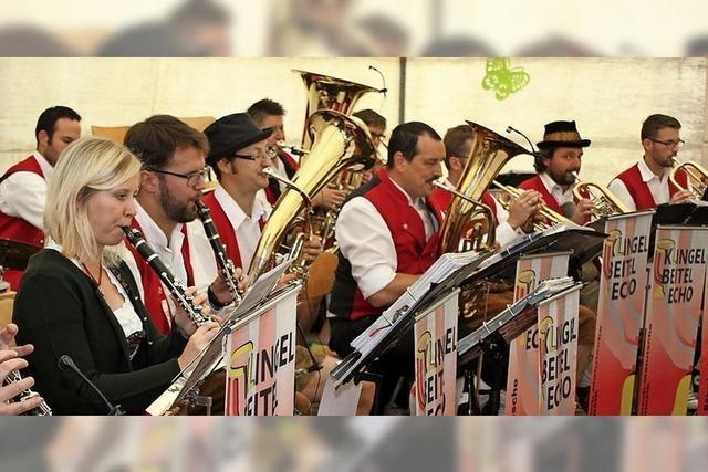 Musikverein Oberbränd, Klingelbeitel Echo, in Oberbränd