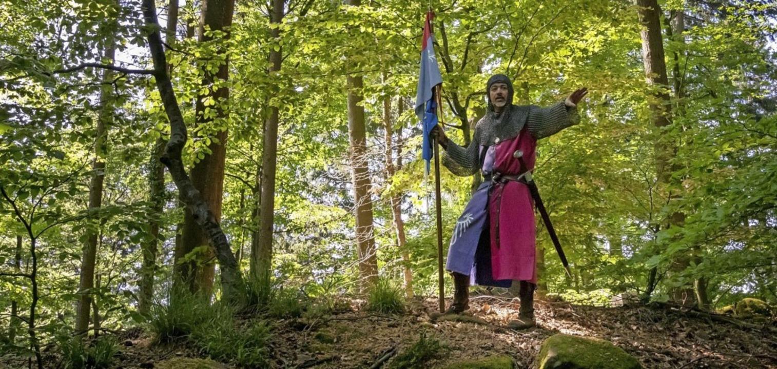 Burgexperte Hans-Jürgen van Akkeren wird Besucher über das alte Gemäuer führen.  | Foto: Johanna van Akkeren