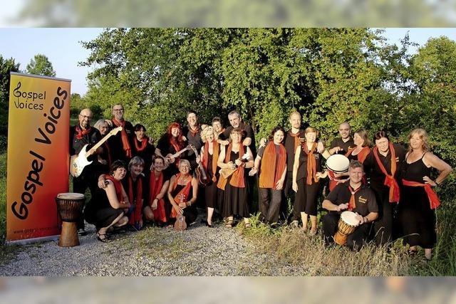 Chor Gospel Voices in Auggen