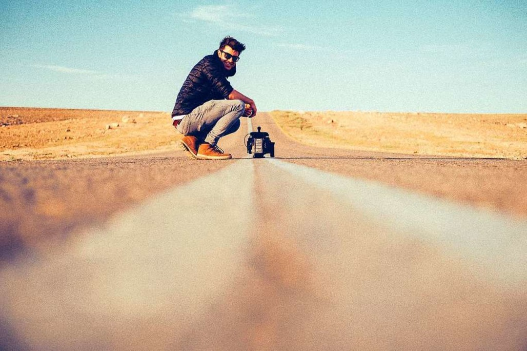 Von Lappland über Südamerika bis Israe...imilian Weber dreht rund um den Globus    Foto: Privat