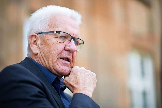 Kretschmann warnt vor Eskalation zwischen Schweiz und EU