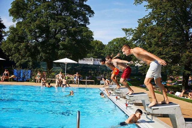 Ein Jahr nach dem Jahrhundertsommer: Besucherrekord im Freizeitbad Stegermatt