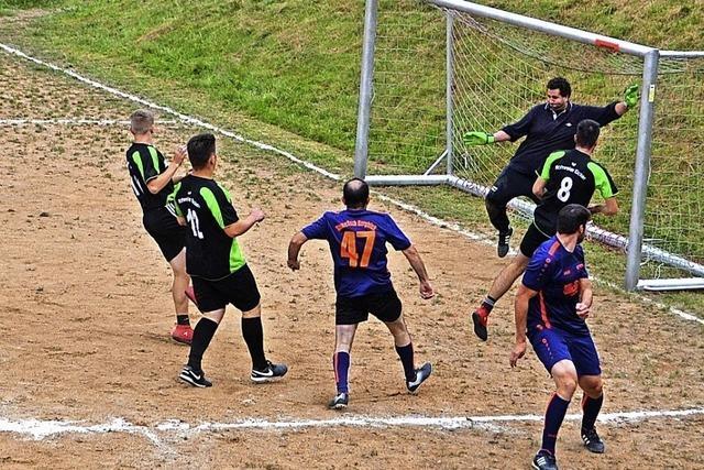 Acht Teams auf dem Platz