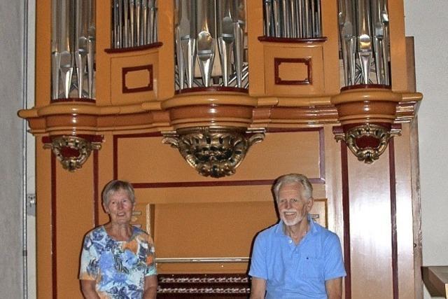 Orgel in neuem Glanz