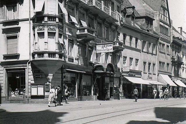 Vom Gast- zum Geschäftshaus: Die Geschichte des Eckhauses an der Kaiser-Joseph- und Löwenstraße