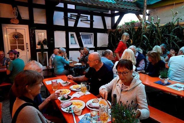 Wie war's beim Gumbiswinkelfest in Vörstetten?