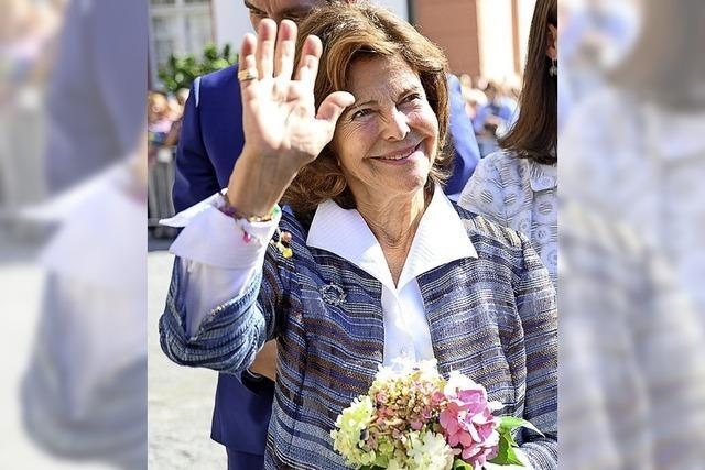 Königin Silvia besucht den Bodensee