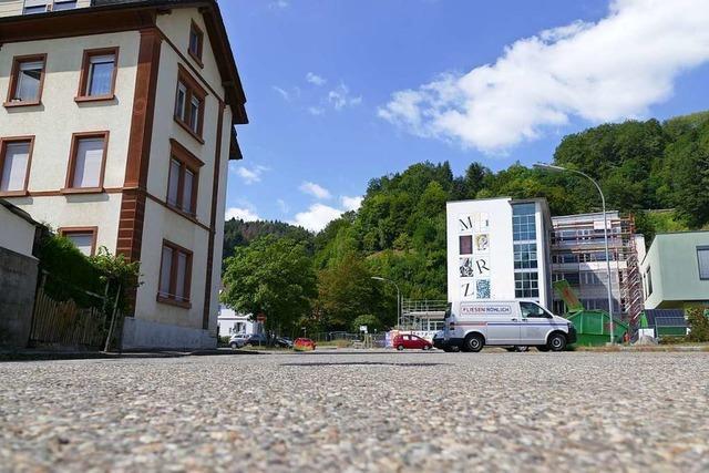 Die Scheffelstraße in Zell wird zum Pausenhof