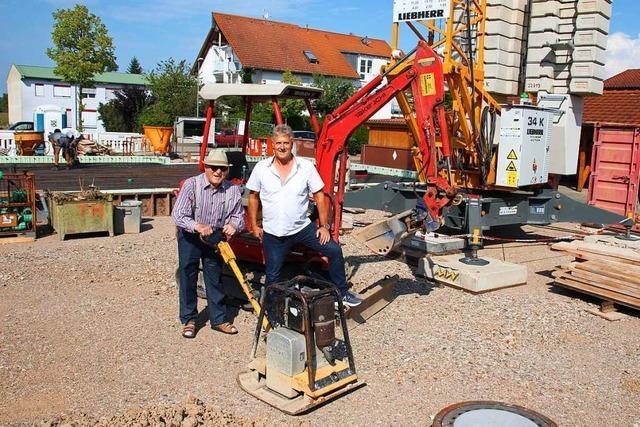 Merdinger Bauunternehmen Hamburger feiert 100-jähriges Bestehen