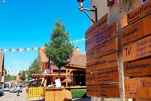 Das Merdinger Gassenfest lädt am Wochenende zu Wein und Musik