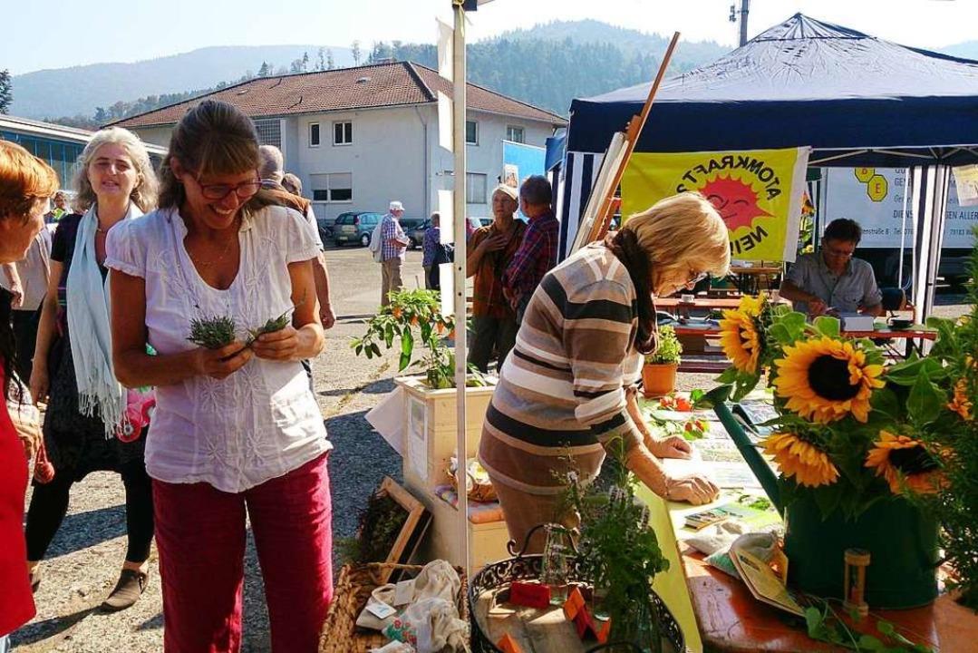Das 1. Fairle fand vor drei Jahren sta...gerinitiative Essbare Stadt Waldkirch.  | Foto: Regina Lorenz