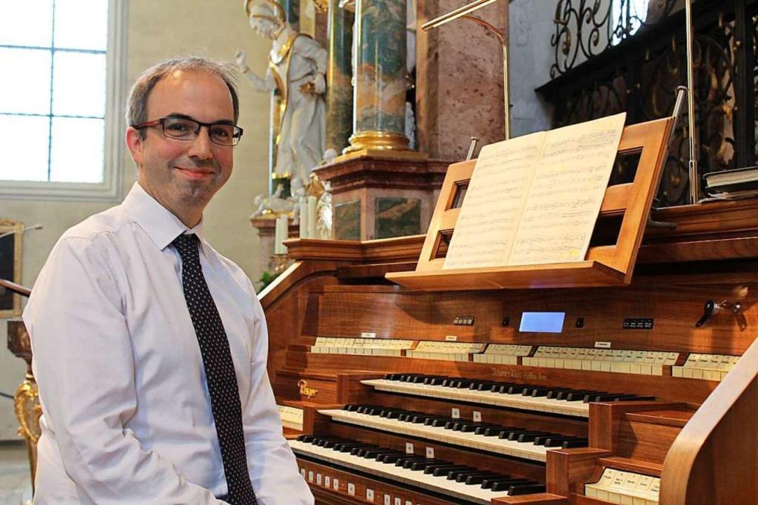 Mit Orgelmusik in höchster Präzision s...bindung zwischen Bach mit der Moderne.  | Foto: Erich Krieger