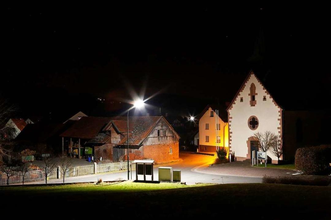 So war das hessische Dorf Silges früher beleuchtet,<ppp></ppp>  | Foto: Alexander Mengel