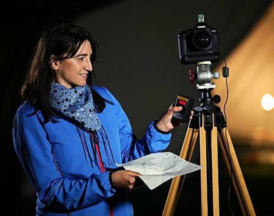 Sabine Frank, Lichtschutzbeauftragte der Stadt Fulda  | Foto: Andreas Frey