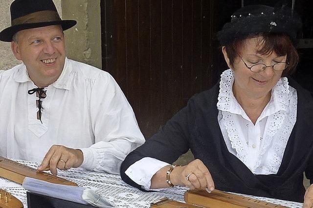 Volkstümliche Weisen mit dem Duo Epinette des Vosges
