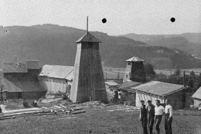 Als Bleibachs alter Bergbau nochmals wiederbelebt werden sollte