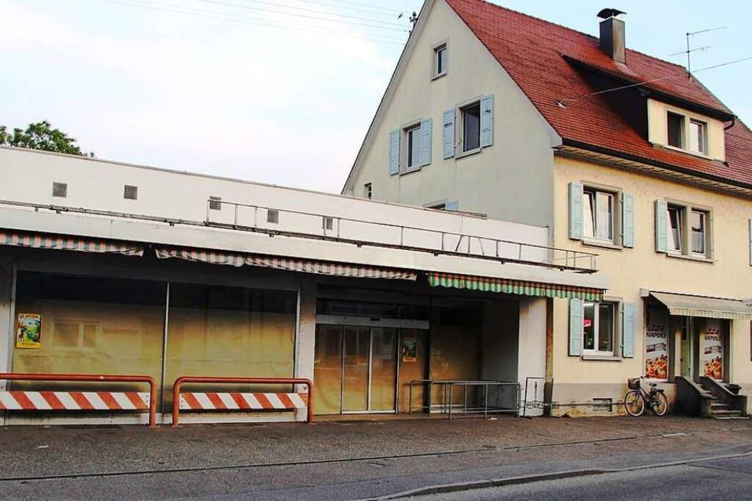 Seit Anfang Juli steht der ehemalige T... eine neue Nutzung erschlossen werden.  | Foto: Horst David