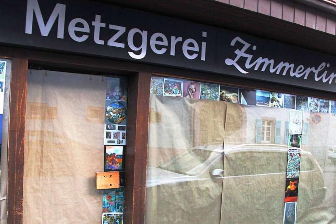 . … im  alten Unterdorf an der Hauptstraße ...  | Foto: Horst David