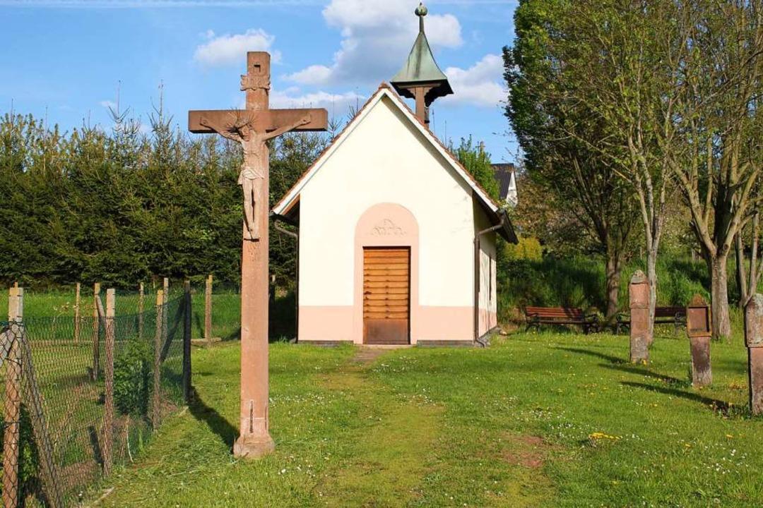 Am Sonntag auch geöffnet: Die Johanneskapelle in Ringsheim    Foto: Adelbert Mutz