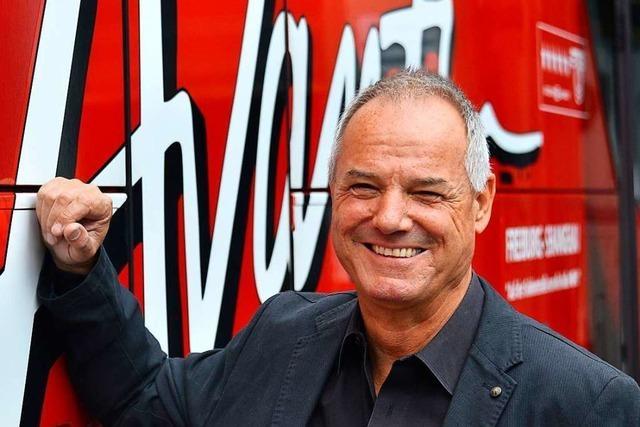 Hans-Peter Christoph geht als Busunternehmer gern ans Limit