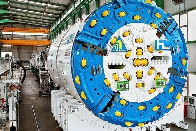 Wie wird der Bau der beiden Röhren für den Freiburger Stadttunnel ablaufen?