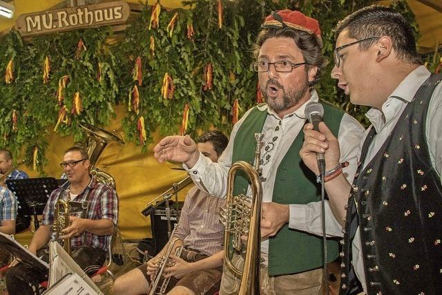 Brennhisli-Musikanten, Breg-Brasss-Buebe, Hörnleecho, Herbstfestmusik in Rötenbach