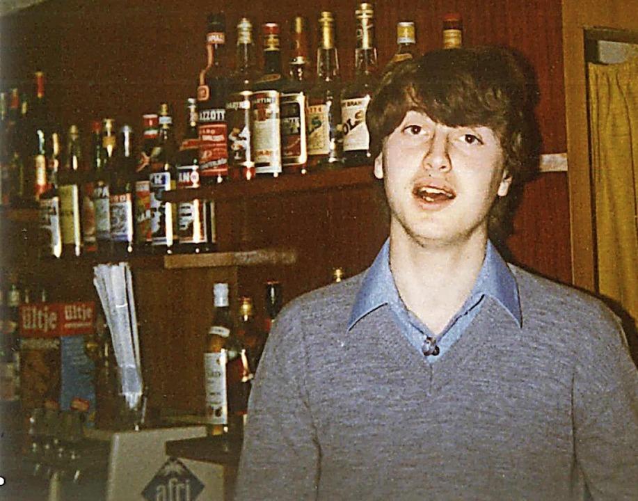 Einen Großteil der Jugend verbrachte Loris Tonon arbeitend im Eiscafé