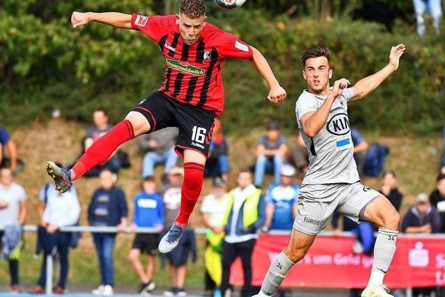 SC Freiburg siegt im Testspiel gegen den FC Aarau mit 4:2