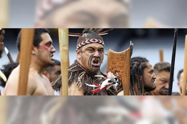 Ringen um einen heiligen Ort der Maori