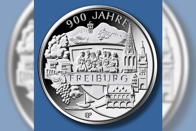 Münze zum Freiburger Stadtjubiläum