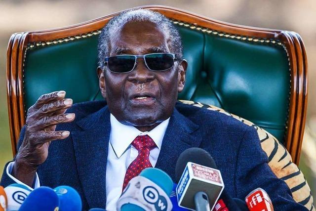 Simbabwes früherer Präsident Robert Mugabe ist gestorben