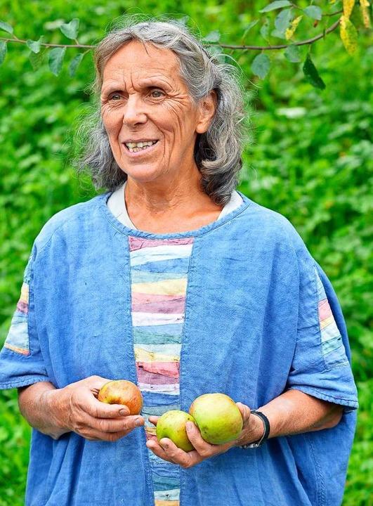 Äpfel aus dem eigenen Garten sind für ...er Natur, das gewürdigt werden sollte.    Foto: Michael Bamberger