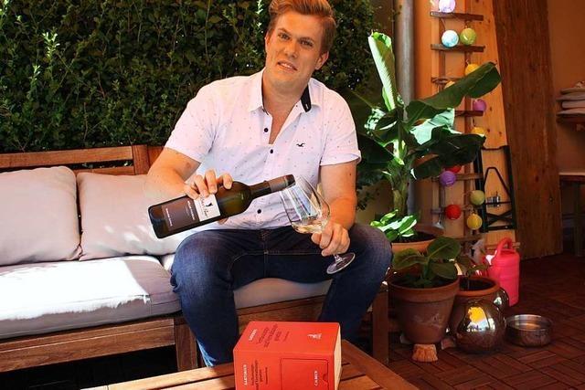 Für Rechtsreferendar Jonas Weber ist der Weinbau ein Ausgleich zur Büroarbeit