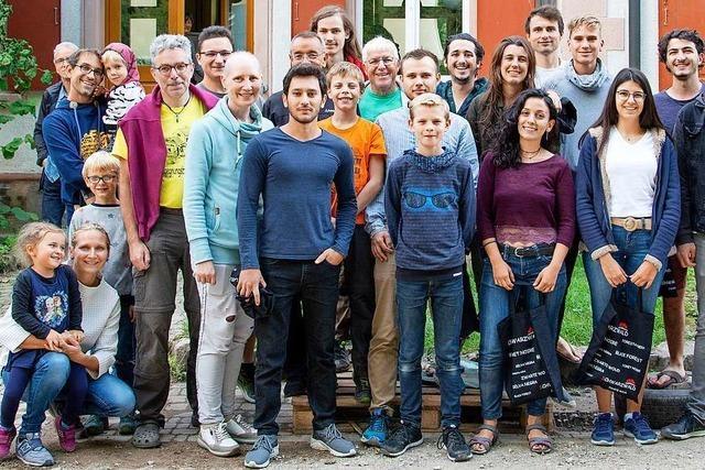 Internationales Baucamp-Team leistet ganze Arbeit