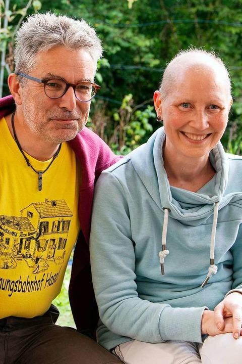 Ton van Wijk und seine Ehefrau Christi...ekommen – seitdem immer wieder.   | Foto: Paul Eischet