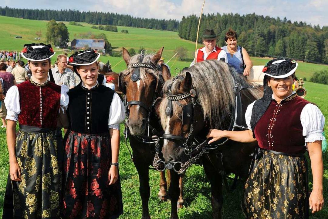 Nur alle drei Jahre steigt in St. Märg...Stadt, amn den Abenden steigen Partys.  | Foto: Wolfgang Scheu