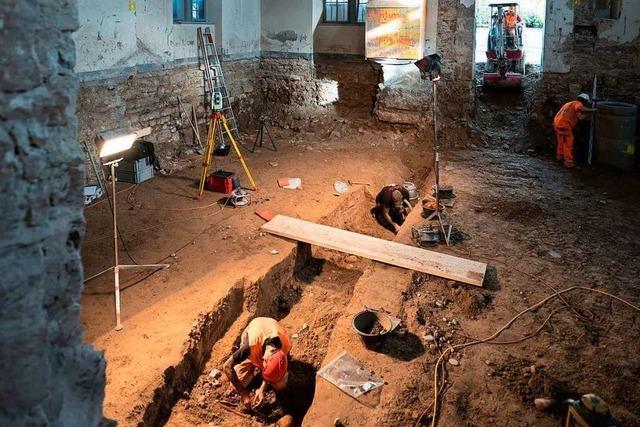 Archäologen finden ein Massengrab mit 27 Skeletten in der Basler Kaserne