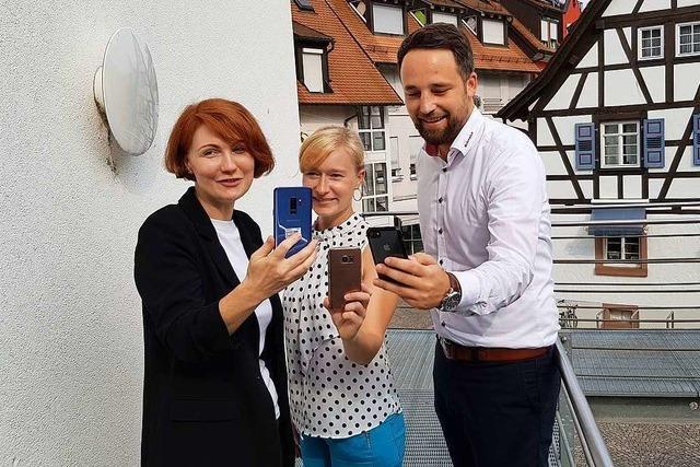 Die neue Emmendinger CityApp bietet Stadtservice auf dem Smartphone