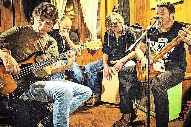 Bluesband Jakewalk zu Gast in Staufen