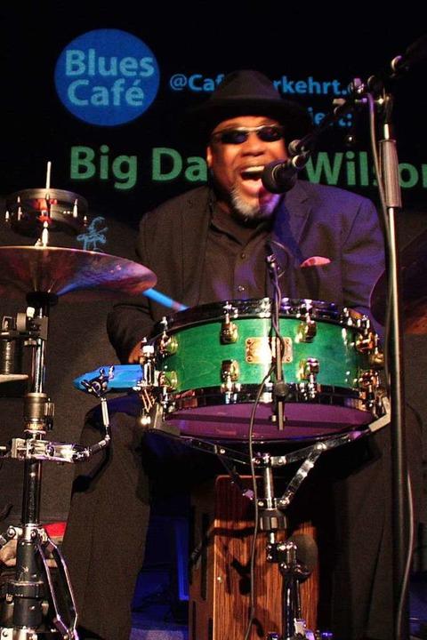 Eröffnet das Halbjahresprogramm: der Blueser Big Daddy Wilson  | Foto: Jörn Kerckhoff