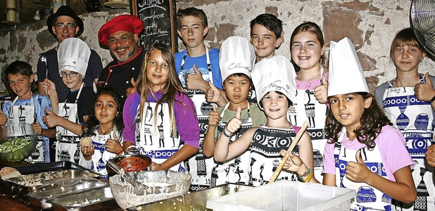 <BZ-FotoAnlauf>Ferienspass Maulburg:</...r im  Maulburger Kinderferienprogramm.  | Foto: Ralph Lacher