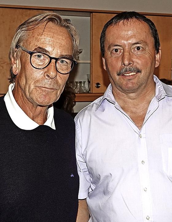 Dr. Andreas Koch (links) und Klaus Wetzel (CDU)    Foto: Hans-Jürgen Hege