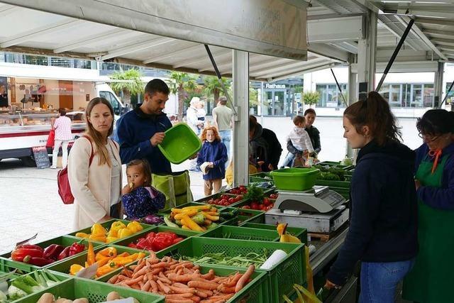 Wochenmarkt in Efringen-Kirchen hat kaum Verkäufer – aber viele Kunden