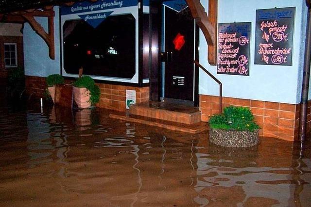 Aus dem Hochwasser 2008 zog Hohberg Konsequenzen