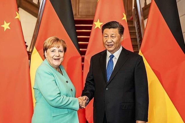 Die Kanzlerin in China – klare Worte, wohl dosiert